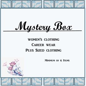 Other - Mystery Box of women's career clothing.  EUC